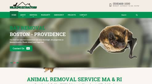 websites for pest control and animals boston, ma