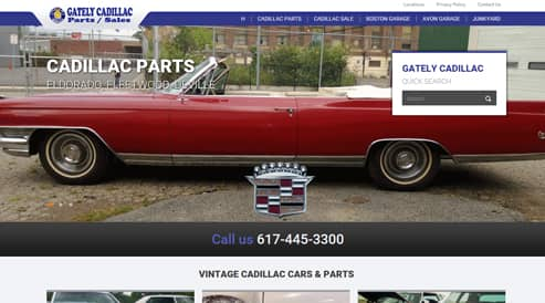 websites for automotive and car company boston, ma