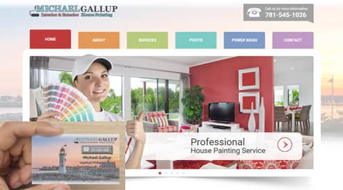 painters company websites designed seo scituate-ma