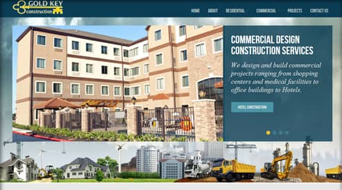 websites for contractors and construction company south shore, ma