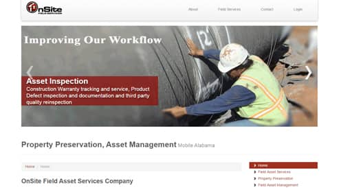 construction builder website design seo