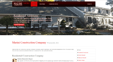 websites for builders contractors