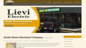 websites for electricians designed seo