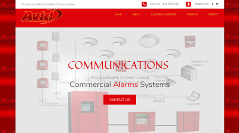 fire alarm electrician company websites boston, ma
