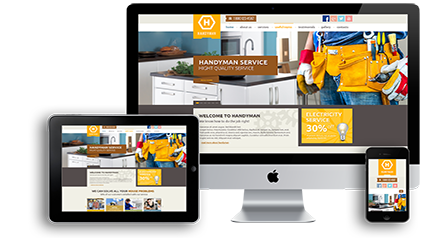 Free hosting website templates small business massachusetts responsive contractor website development massachusetts accmission Images