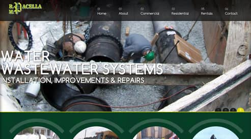 websites for excavation contractor company south shore, ma