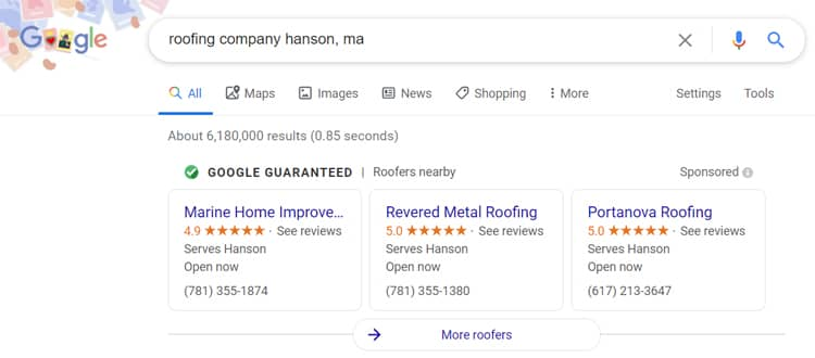 Why Google Local Service Ads?