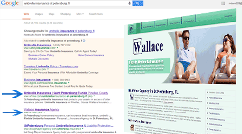 websites for insurance agency and financial planners