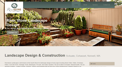 websites for landscapers industry
