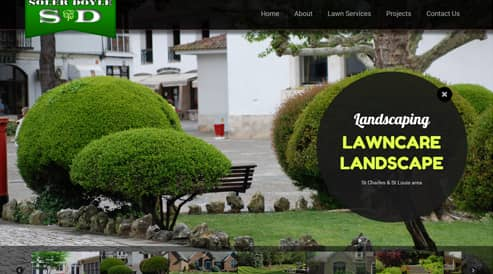 websites for landscapers, lawncare st louis, missouri