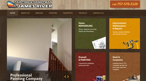 websites for painting and home improvement