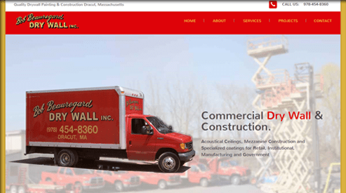 websites for painting company seo Lowell, MA