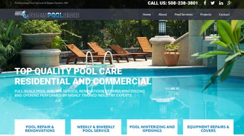 pool company websites boston, ma