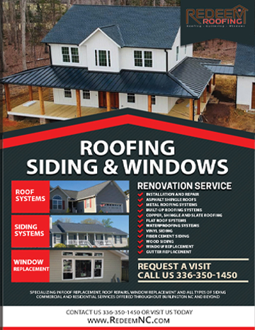 flyer cards roofing siding and contractors