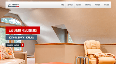 websites for remodel contractor company south shore, ma