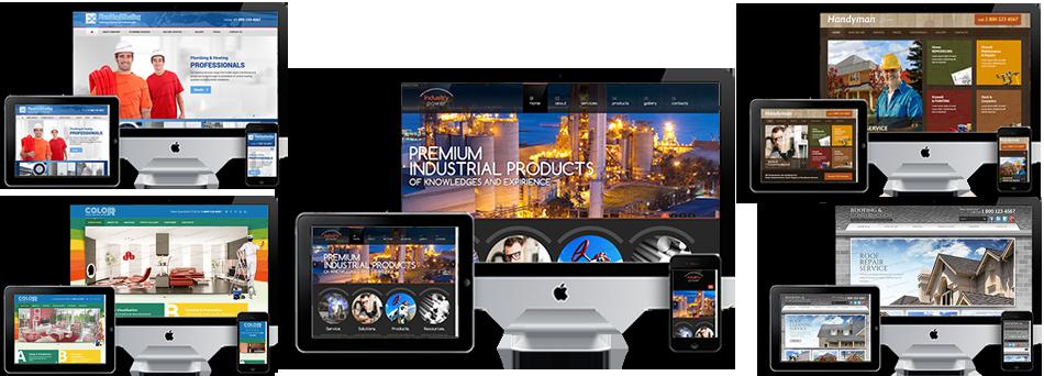 Contractors Builder Plumber Electrician Roofer Website Design ...