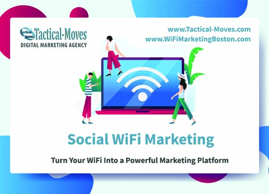 social wifi marketing for restaurants and cafe boston, ma