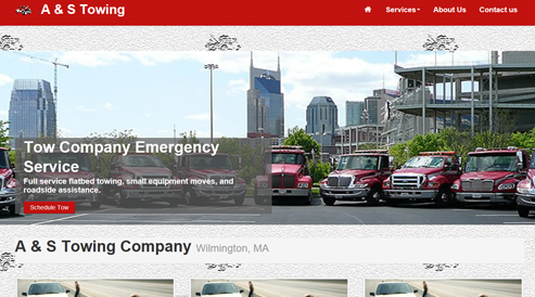 websites for tow car repair companies seo