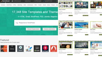 Responsive Website Design Templates Boston Massachusetts - Professional website templates